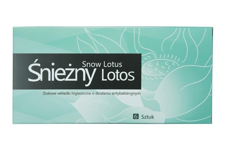 Śnieżny Lotos Ziołowe wkładki higieniczne o działaniu antybakteryjnym